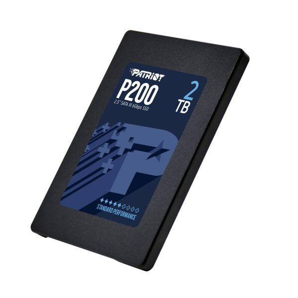 SSD Patriot P200 2TB 530/460 MB/s 90k IOPs 7mm-4
