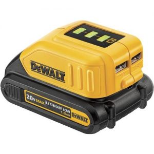 Adapter USB do ładowania DeWalt DCB090-XJ (Li-Ion; 230 V)-1
