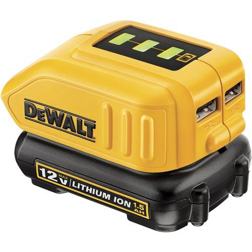 Adapter USB do ładowania DeWalt DCB090-XJ (Li-Ion; 230 V)-3