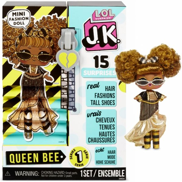 MGA L.O.L. Surprise J.K. Doll- Laleczka Queen Bee-1