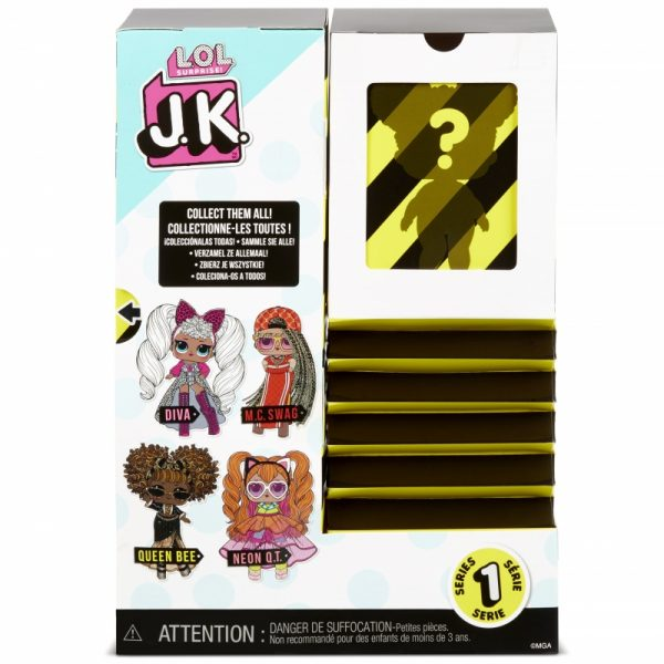 MGA L.O.L. Surprise J.K. Doll- Laleczka Queen Bee-5