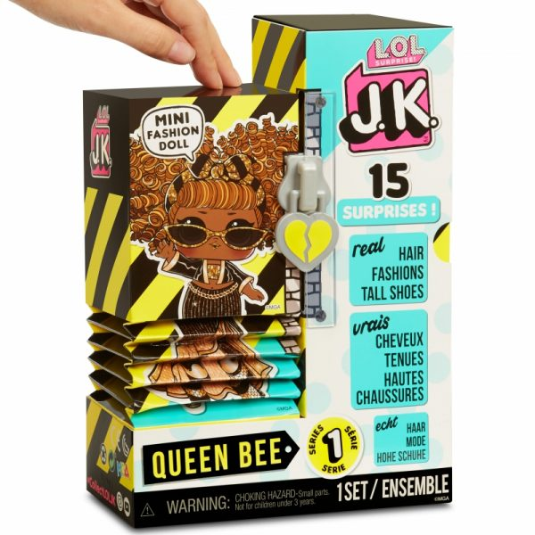 MGA L.O.L. Surprise J.K. Doll- Laleczka Queen Bee-12