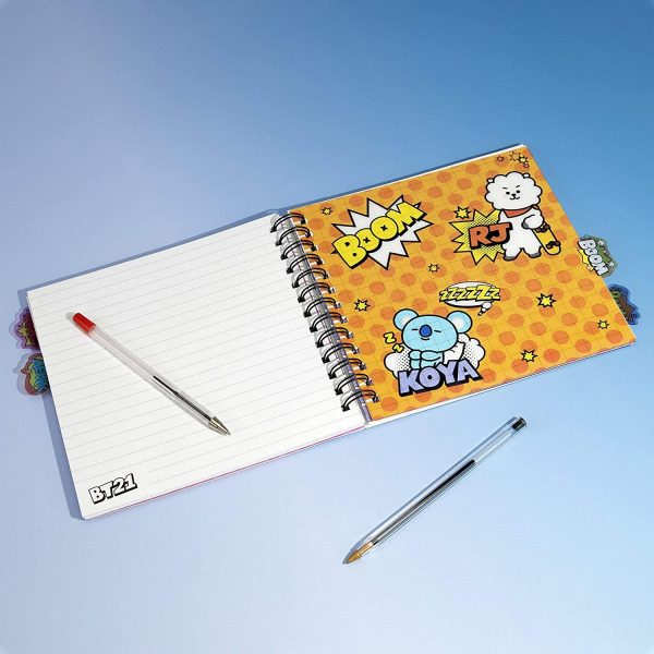 PP BT21 NOTEBOOK WITH DIVIDERS-5