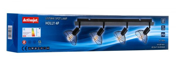 Listwa Activejet AJE-HOLLY 4P (160 W; E14 x 4)-6