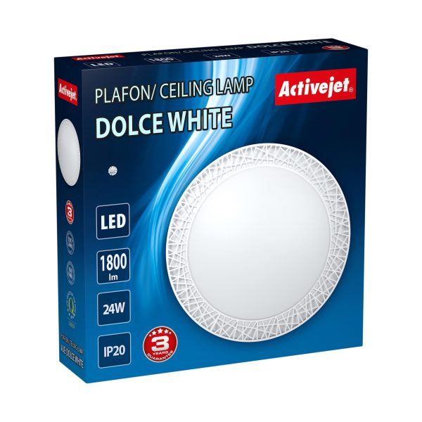 Plafon LED Activejet AJE-DOLCE White-3