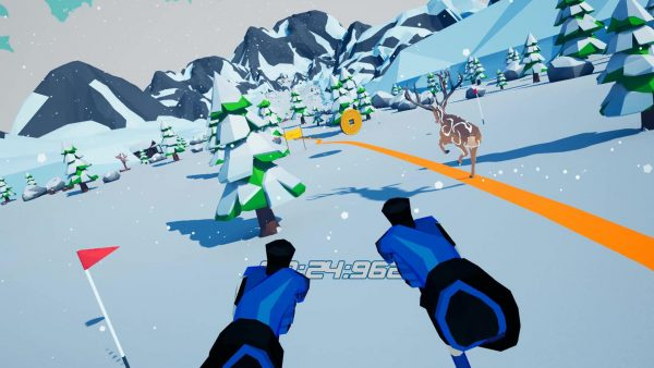 Let's Go! Skiing VR-4