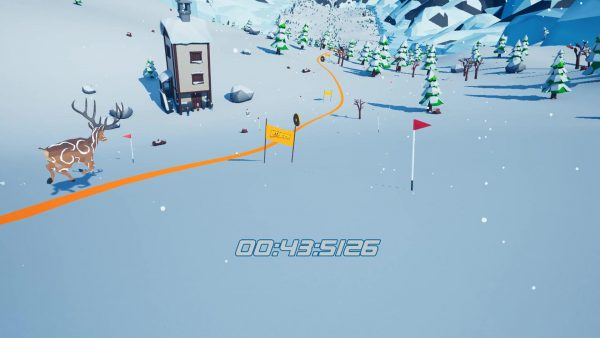 Let's Go! Skiing VR-5