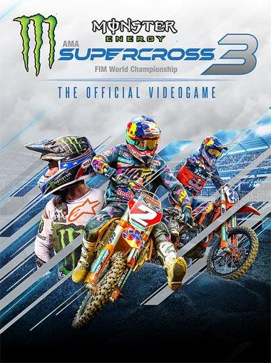 Gra PC Monster Energy Supercross-The Official Video Game 3 (wersja cyfrowa; DE, ENG; od 3 lat)-1