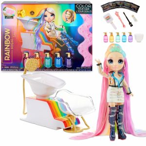 MGA Rainbow High Salon Playset Salon Fryzjerski-1