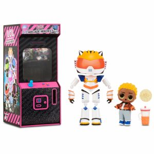 L.O.L Surprise Boys Arcade Heroes Cool Cat lalka w automacie do gier-1