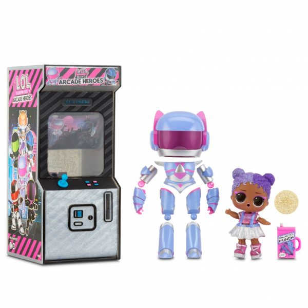 L.O.L Surprise Boys Arcade Heroes Infinity Queen lalka w automacie do gier-1
