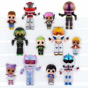 L.O.L Surprise Boys Arcade Heroes Infinity Queen lalka w automacie do gier-2