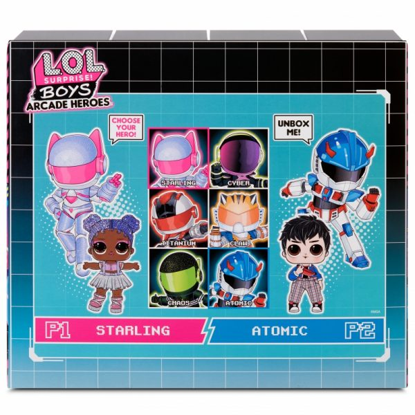 L.O.L Surprise Boys Arcade Heroes Infinity Queen lalka w automacie do gier-6