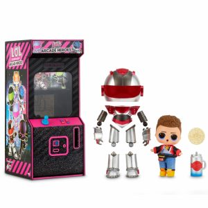 L.O.L Surprise Boys Arcade Heroes Gear Guy lalka w automacie do gier-1