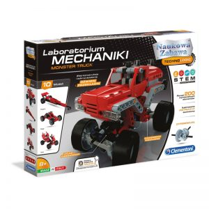 Clementoni Laboratorium Mechaniki Monster Truck-1