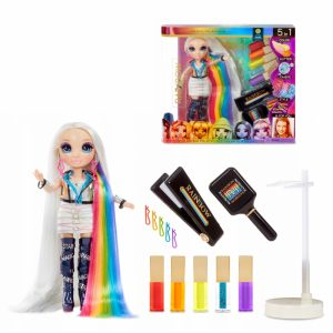 Rainbow High Hair Studio i lalka Amaya Raine 5w1-1